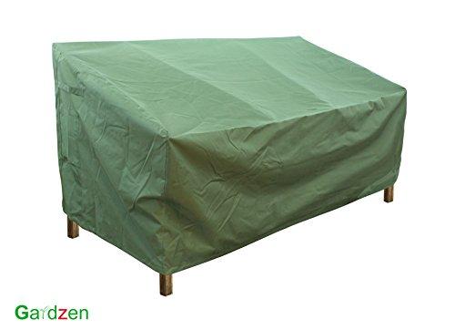 Gardzen Veranda Sofa  Loveseat CoverMediumGreen - Heavy dutyGarden Furniture cover outdoor furniture cover