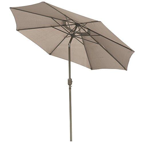 World Pride Outdoor Patio Umbrella 45 Degree Push Button Tilt W Crank Tiltuv Protection Great For Garden Pool
