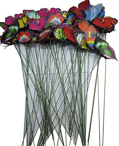 Lebeila Butterfly Garden Ornamentsamp Patio D&eacutecor Butterfly Party Supplies Butterfly Decorations For Outdoor Garden