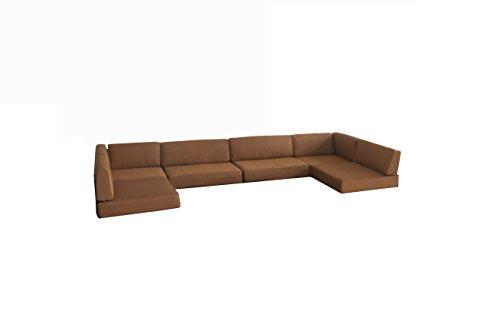 BroyerK Cushion cover for 7pcs outdoor sofa rattan set