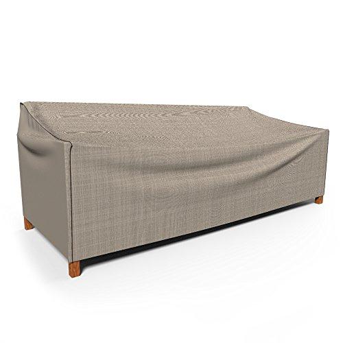 Budge English Garden Outdoor Patio Sofa Cover Extra Extra Large Tan Tweed