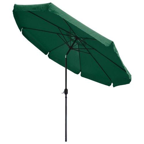 10 Ft Outdoor Furniture Patio Table Umbrella Green