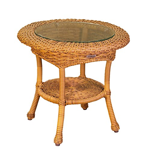 Tortuga Outdoor Patio Garden Lexington Side Table - Mojave