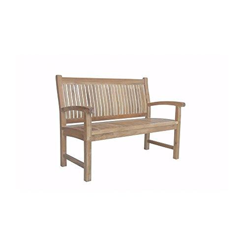 Anderson Teak Patio Lawn Garden Furniture Sahara 2-Seater Bench