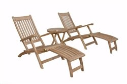 Anderson Teak Patio Lawn Garden Furniture Tropicana Montage Set