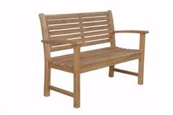 Anderson Teak Patio Lawn Garden Furniture Victoria 48 2-Seater Bench