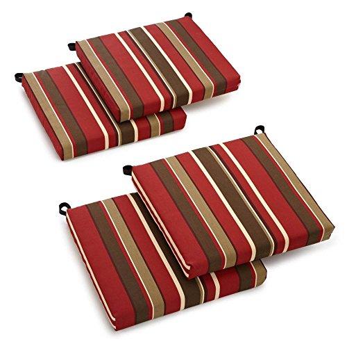 Cushion for Outdoor Chair - Set of 4 Alenia Pompeii