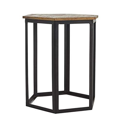 CHOUCHOU Flower Stand Iron Small Coffee Table A Few Modern Minimalist Solid Wood Corners Living Room Simple Small Table Coffee Table Size  45 45 53Size454553 Size  454553