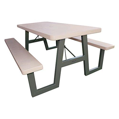 Lifetime 60030 W-frame Folding Picnic Table 6 Feet