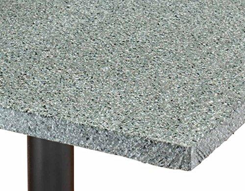 Granite Vinyl Elasticized Banquet Table Cover
