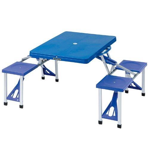 Picnic Table Set Bundok Blue Bd-190
