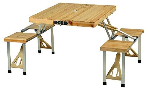Picnic at Ascot Portable Picnic Table Set - Natural