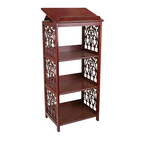 Design Toscano St Thomas Aquinas Gothic Wooden Bookstand