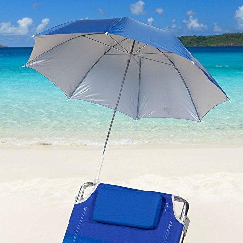 Icetek Sports Clamp-on Beach Umbrella Blue