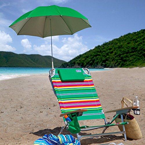 Rio 4 Ft Clamp-on Beach Umbrella