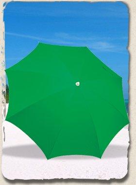 Rio Beach Clamp-on Umbrella In Solid Colors