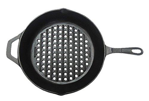 Mrbarbq 08106x Round Grill Pan Cast Iron
