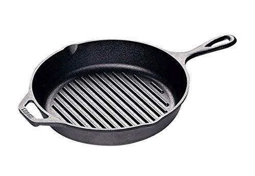 Lodge L8GP3 Cast Iron Grill Pan 1025-inch