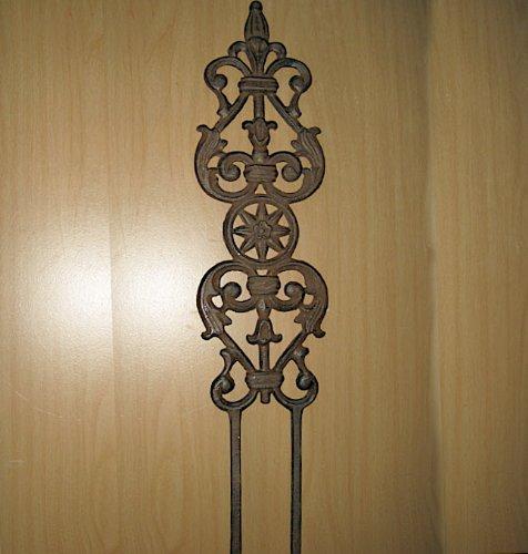 Garden Staketrellis Cast Iron Set of 4 New