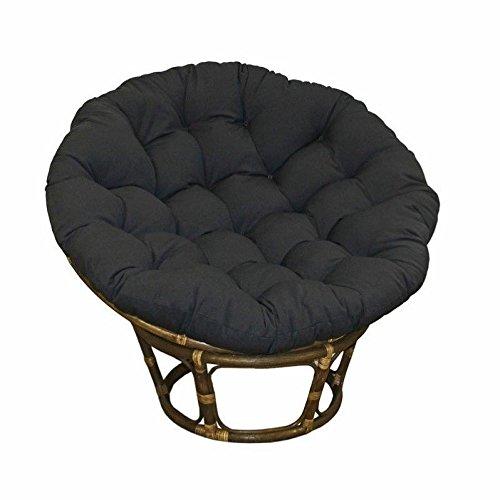 International Caravan Bali Rattan 42&quot Papasan Chair - Black