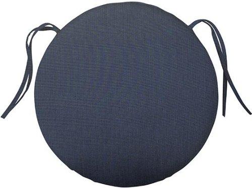 Bullnose Round Outdoor Chair Cushion 2Hx18DIAMETER INDIGO SUNBRELL