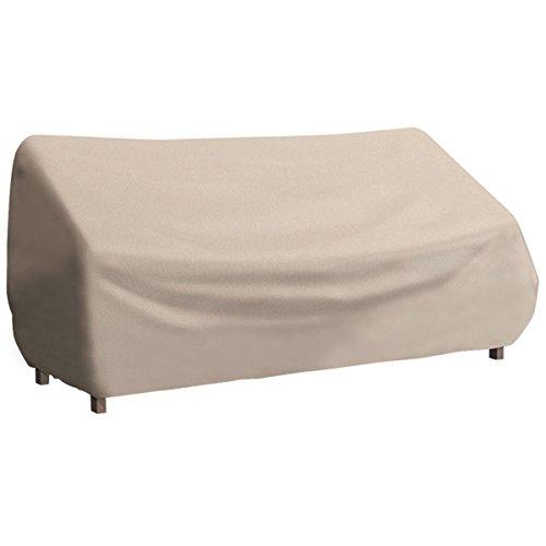 Tangkula Waterproof High Back Patio Three-seats Sofa Cover Outdoor Furniture Protection