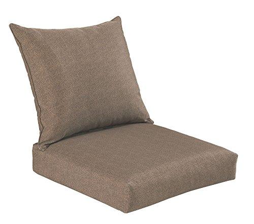 Bossima Indooroutdoor Coffee Deep Seat Chair Cushion Setspringsummer Seasonal Replacement Cushions