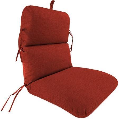 Jordan Manufacturing Outdoor Replacement Chair Cushion Husk Texture Brick