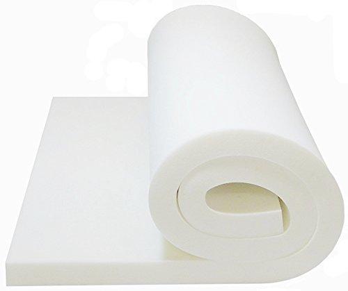 Foam Cushion 1T x 24W x 80L 1536 Medium Firm Seat Cushion Replacement Foam Cushion Upholstery Foam Sheet Foam Padding
