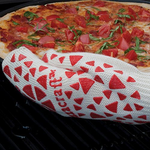 Pizzacraft Pc0407 13&quot Pizza Oven Mitt With Silicone Slip Guard