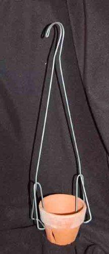 Orchid Pot Hanger 17 inches TL Double Shanks 6 Pak 6