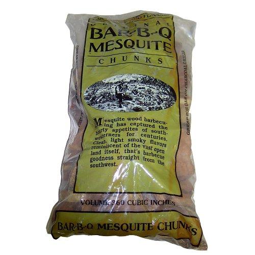 21st Century B42a8 Mesquite Wood Chunks Bag 5-pound