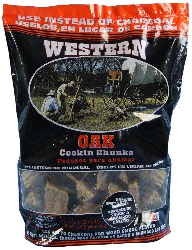 Western 78057 Oak Cooking Wood Chunks