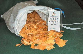 Western Red Alder Wood Smoking Chips 8 lbs