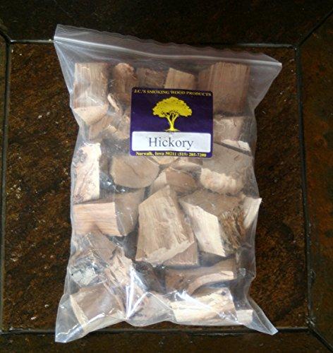 JCs Smoking Wood Chunks - Gallon Sized bag - Hickory