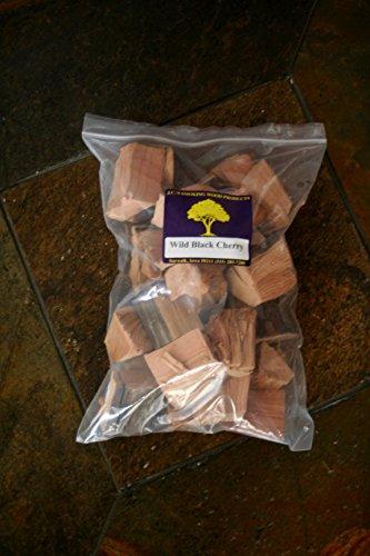 JCs Smoking Wood Chunks - Gallon Sized bag - Wild Black Cherry 4PK