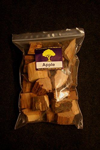 Jcs Smoking Wood Chunks - Gallon Sized Bag - Apple