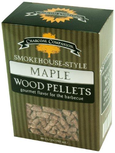 Charcoal Companion Smokehouse-Style Wood Pellets 1 lb Maple - CC6048