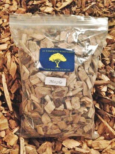 Jcs Smoking Wood Chips - 210 Cu Inch Gal Bag - Maple