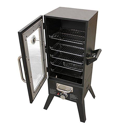 10000 - 20000 BTU Smoke Hollow 36-inch LP Gas Smoker with Window