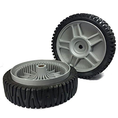 Set Of 2 Husqvarna AYP OEM Lawn Mower Wheels 581009202 193912X460