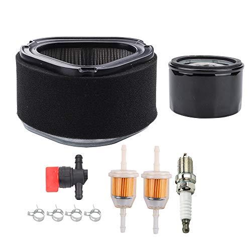 Dalom GY20574 Air Filter Tune-UP Kit w AM125424 Oil Filter for John Deere Riding Mower GT225 LT133 LT150 LT155 LTR155 LTR166 LX173 LX172 LX188 LX186 LX178 LX176 LX255 STX30 STX38 SST15 Tractor