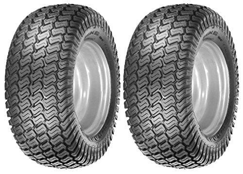 2 16x650-8 Tires 4 Ply Lawn Mower Garden Tractor 16-650-8 Turf Master Tread