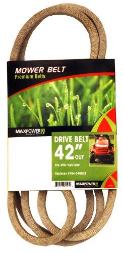 Maxpower 336351 Mower Belt For Mtd Cub Cadet And Troy-bilt Models 754-04060b 954-04060b