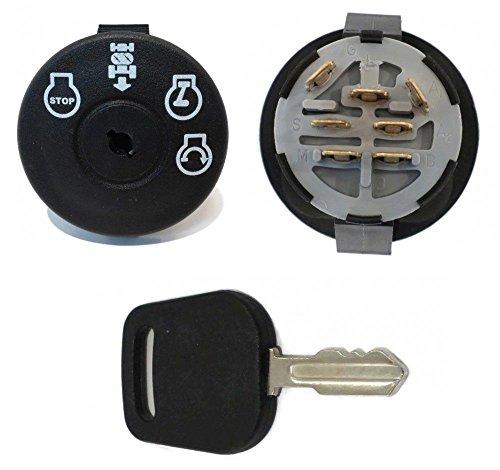 The ROP Shop Starter Ignition Switch Key AYP Sears Craftsman Poulan 193350 Lawn Mower Rider