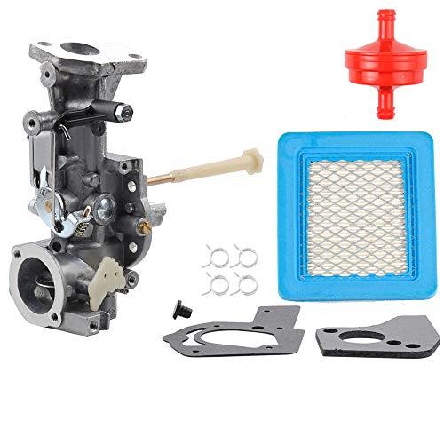 498298 Carburetor for Briggs Stratton 692784 495951 492611 490533 495426 5HP wAir Fuel Filter Gasket Parts Kit Engine Troy-bilt Rototiller Generac Generator Craftsman Tiller Power Washer Lawnmower