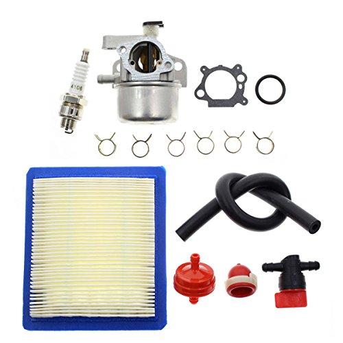 Carbhub Carburetor for Briggs Stratton 799866 790845 799871 796707 794304 12H800 Engine Toro Craftsman Lawn Mower Carb Toro 22 Recycler with Air Filter Spark Plug Primer Bulb