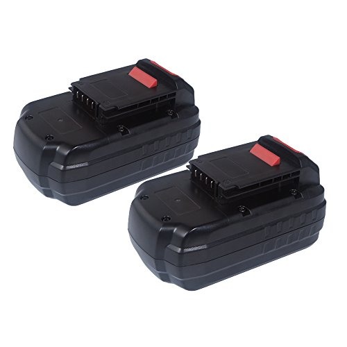FLAGPOWER 18V 20Ah PC18B Replacement Battery for Porter Cable PC18B-2 Cordless Power Tools 2 Pack