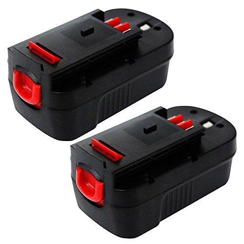 Powermall Enegitech  Battery For Blackamp Decker 18v 30ah Hpb18-ope pack Of 2