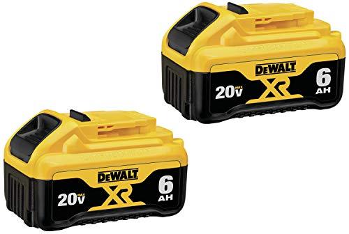 DEWALT DCB206-2 20V MAX Battery Premium 60Ah Double Pack